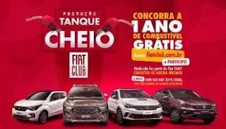 Promoção Tanque Cheio FIAT Club 2019 - Um Ano Combustível Grátis