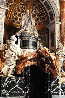 tumulo alexandre VII basilica sao pedro roma - Cinco obras de arte da Basílica de São Pedro