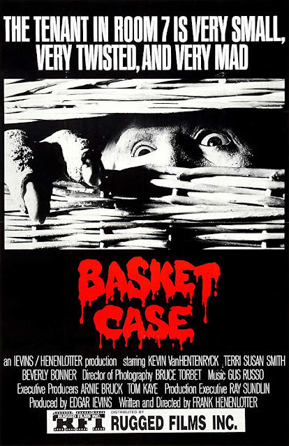 Basket Case 1982 horror movie poster