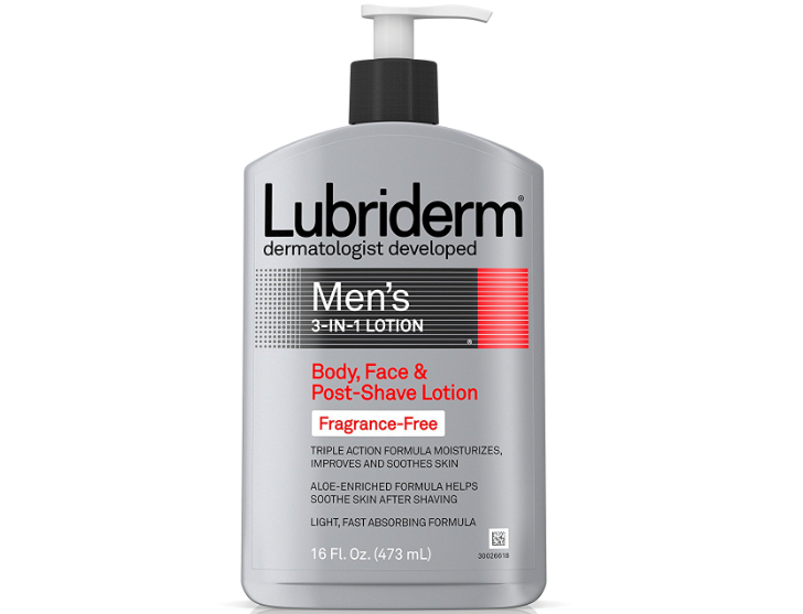 Product Review: LUBRIDERM® Men's 3-in-1 Fragrance-Free Lotion!