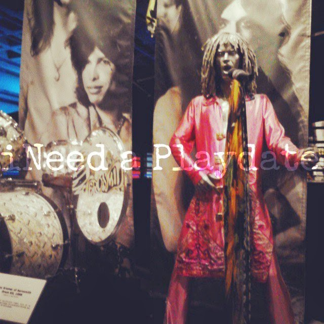 Steve Tyler at the Rock Hall | @MryJhnsn