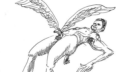 pene con alas