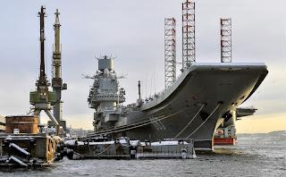 Kapal Induk Rusia
