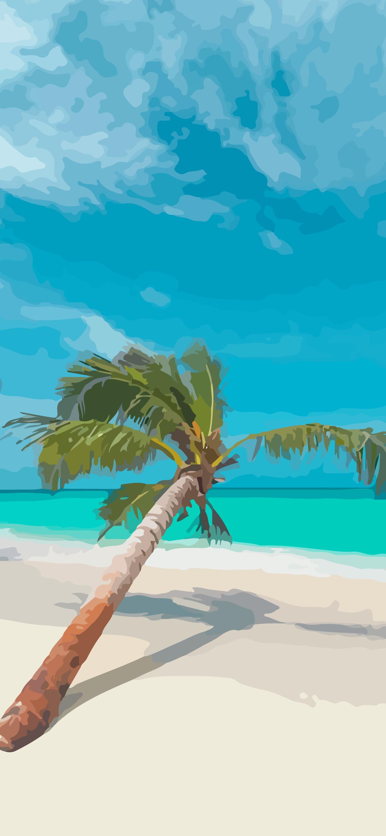 beach calm relax