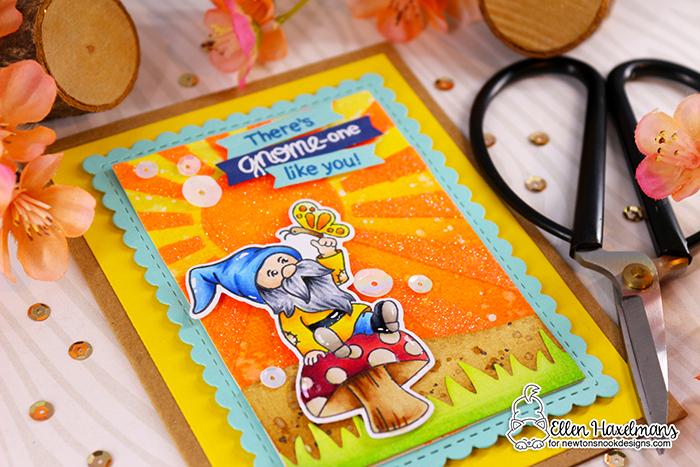 #newtonsnook #newtonsnookdesigns #handmadecard #cardmaking #stamping #hellocard #friendshipcard #landbordersdieset #thermoweb #glitzglittergel #nnd #card #cardmaking #handmade #stampset #dieset #paperart #hobby #drawing #gnomecard #copicmarkers #copicciao #copiccoloring #GnomeGardenstampset #BleedingHeartstampset #PetiteCloudsstencil