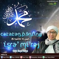 Catatan Penting Di Balik Kisah Isro' Mi'roj - Kajian Islam Tarakan