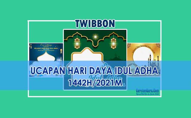Twibbon Hari Raya Idul Adha 2021 Banyak Pilihan Menarik