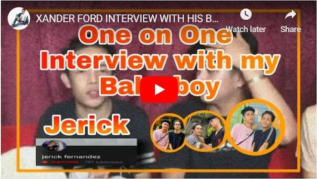 Xander Fords Introduces His Boyfriend in Public