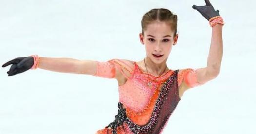 Ученица Тутберидзе Акатьева одержала победу на этапе Кубка России в Казани