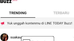 LINE Buzz! Instagram Rasa LINE
