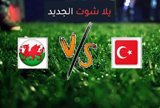 نتيجة مباراة تركيا وويلز اليوم الاربعاء 16-06-2021 يورو 2020