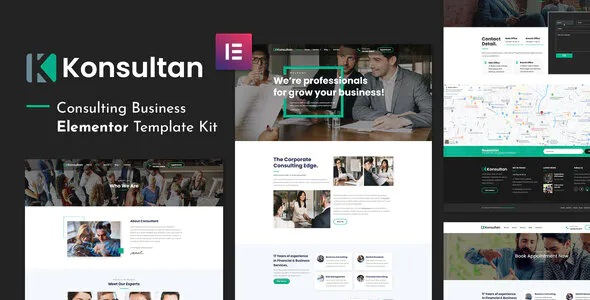 Best Consulting Business Elementor Template Kit