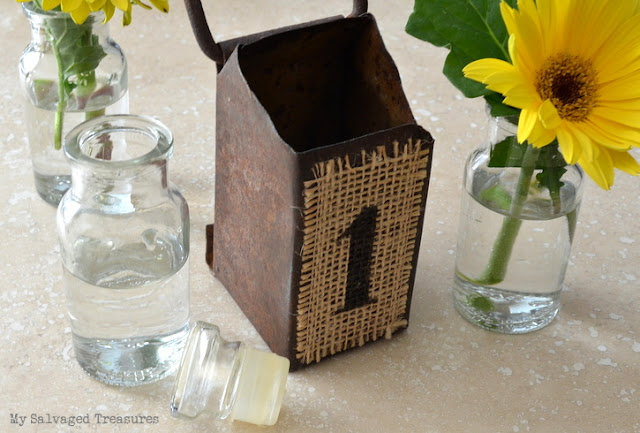 spice bottle bud vases