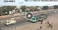 Live road accident on siruvachur national highway tamilnadu | caugh on cctv camera