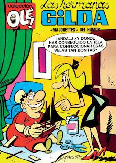 Las Hermanas Gilda, Coleccíon Olé nº 33