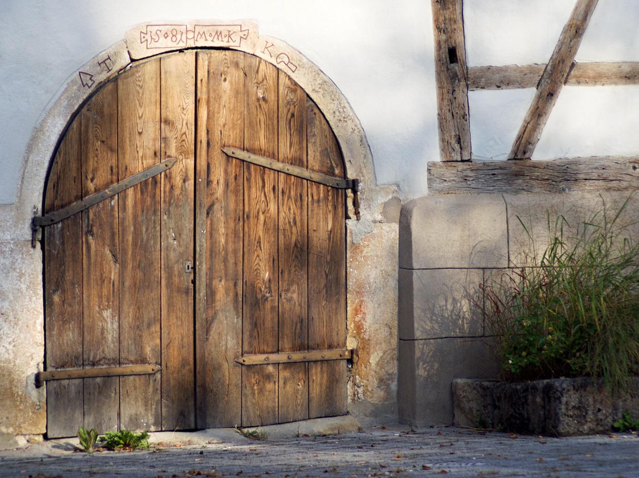 Wieder einmal meine Referenzscheunentüre #1