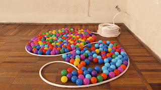 colorfull balls art