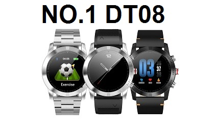 NO.1 DT08 SmartWatch Specs Features and Price