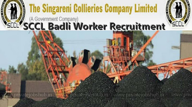 SCCL Badli Worker Recruitment