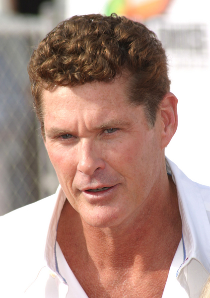 The Hoff Vs The Piranha.........OH IT IS ON!!!