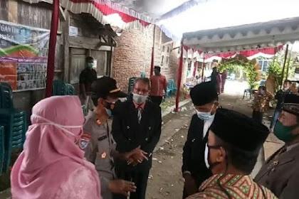 Timbulkan Kerumunan, Hajatan Pernikahan Di Ngawi Dibubarkan Petugas