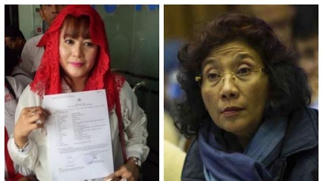 Panas! Dewi Tanjung: Saya Bisa Menenggelamkan Seorang Susi Pudjiastuti