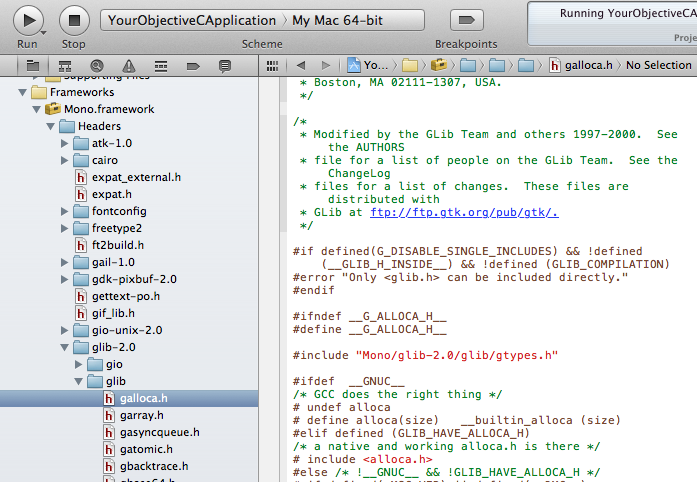Embedding Mono into Objective-C to access C# code