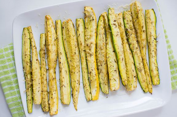 baked zucchini in oven