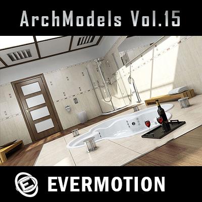 Evermotion Archmodels vol.15 3dsMax單體模型合集第15期下載