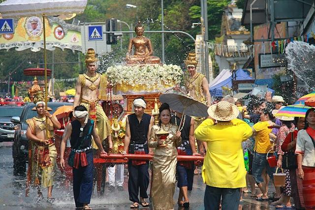 3 spring festivals in Thailand