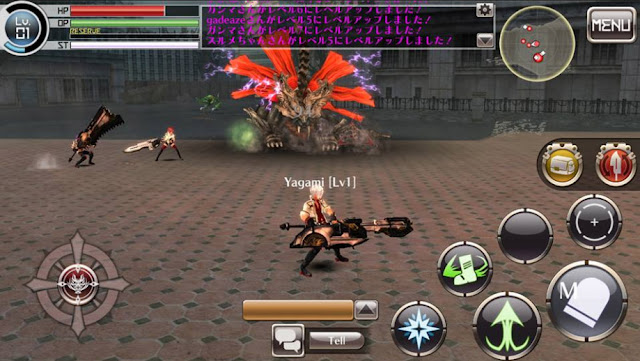 Game God Eater Online Apk Mobile For Android Versi Terbaru