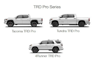 Toyota TRD Pro Models