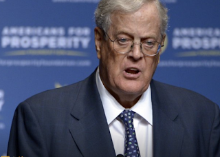 Great donor David Koch died at the age of 79
