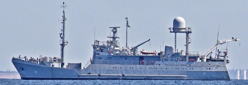 Ukraine's newest reconnaissance ship set sail