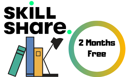 GET 2 FREE MONTHS OF SKILL SHARE PREMIUM MEMBERSHIP - LIMITED SEATS