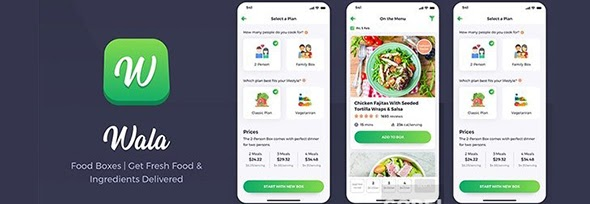 Wala - Food & Delivery React Native Apps