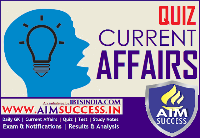 Current Affairs Questions for RRB ALP/Technician Exam 2018