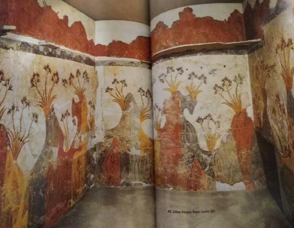 Akrotiri - Lilies on the Wall