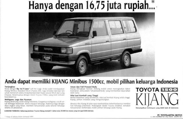 Perbedaan Tipe Kijang Super, Grand Extra, Rover dan Jantan Raider