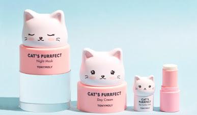 Tonymoly Cat's Purrfect Skin Care