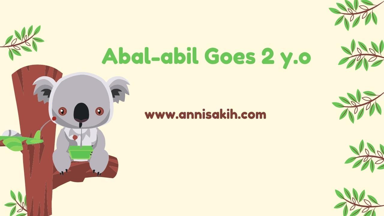 Abal Abil Goes 2y.o