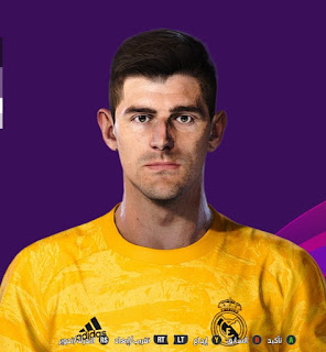 PES 2020 Faces Thibaut Courtois by So PES