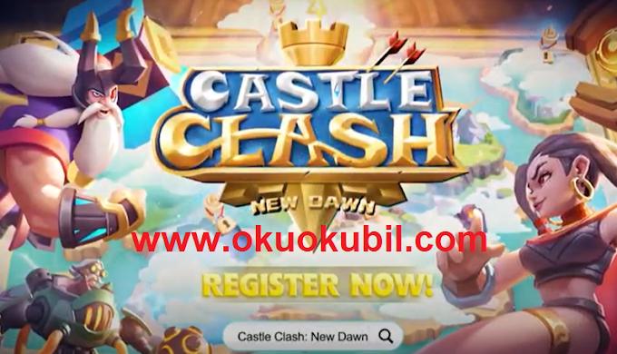 Castle Clash 1.5.1 Yeni Şafak Apk + Mod + Obb İndir 2020