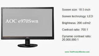 AOC e970Swn 18.5-inch LED monitor