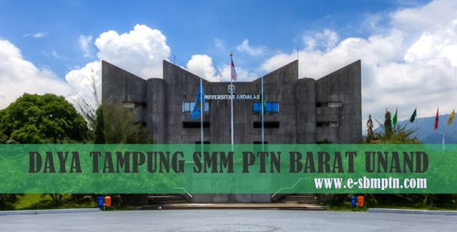 DAYA TAMPUNG SMM PTN-BARAT UNAND 2018/2019