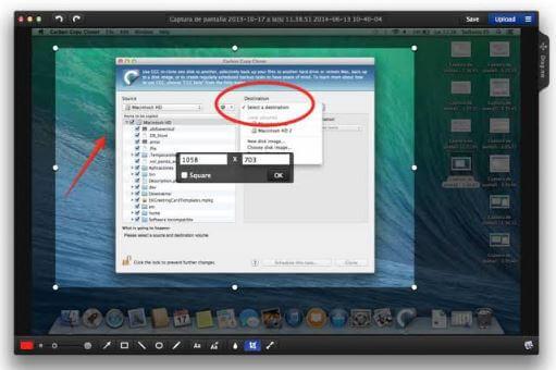 برنامج, حديث, ومتطور, لالتقاط, الصور, من, سطح, المكتب, وتسجيل, الشاشة, فيديو, Monosnap