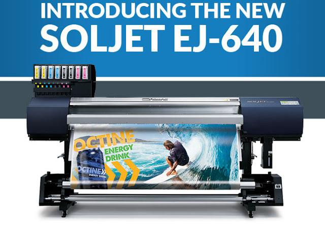 What About Roland SOLJET EJ 640 Large Format Color Printer