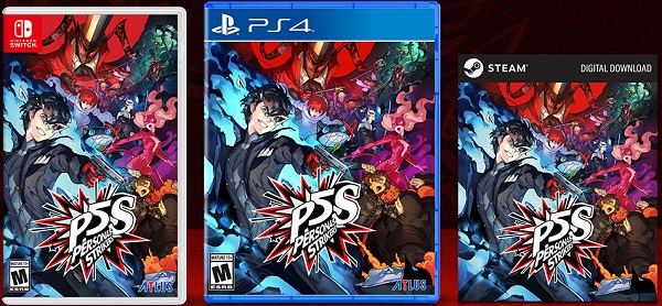 Persona 5 Strikers Nintendo Switch, PS4, & Steam Cover