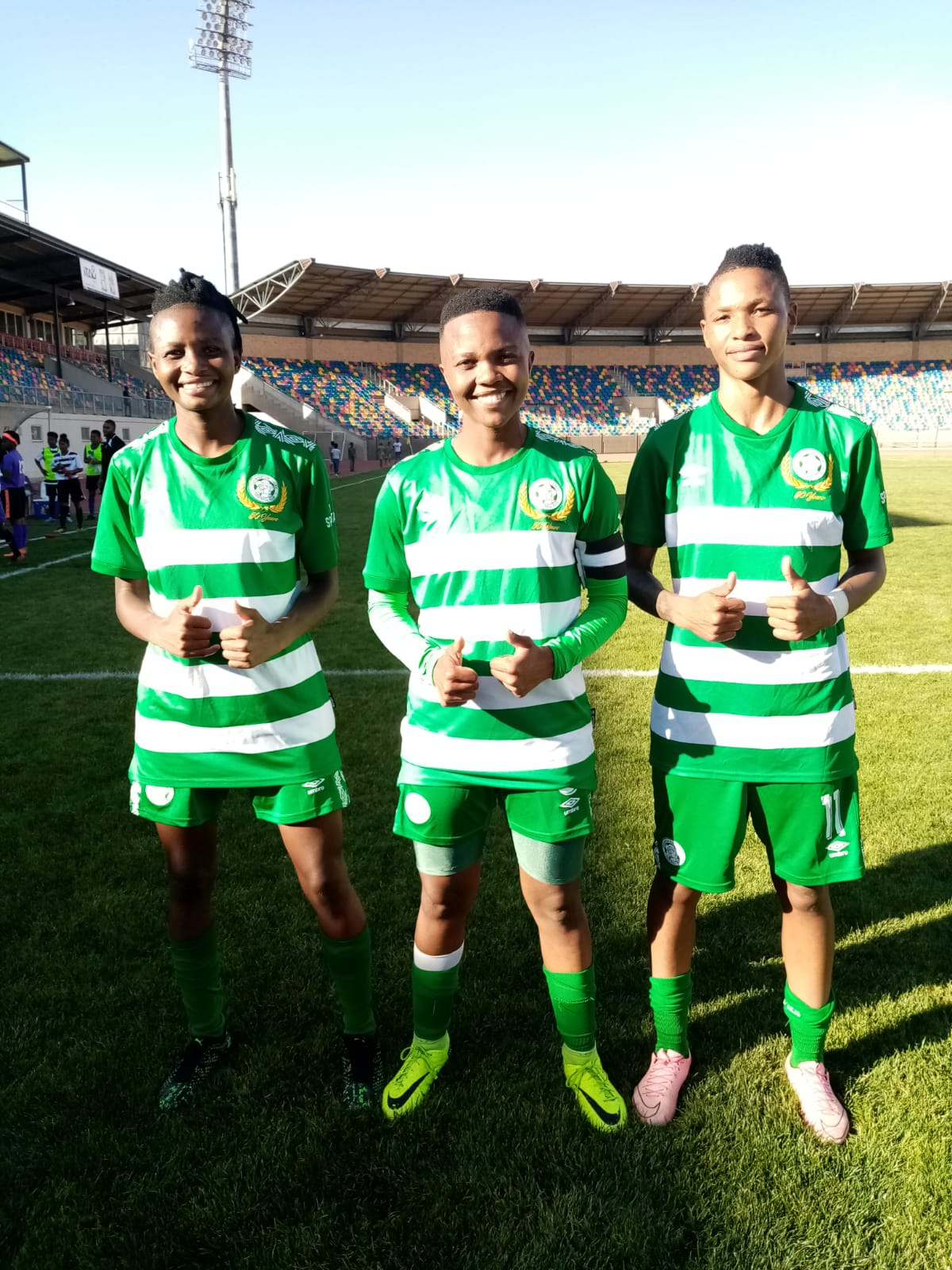 Bloemfontein Celtic Ladies will be buzzing after beating the much-fancied JVW Girls last time out