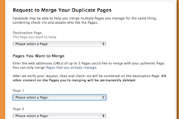 How to Merge Two Facebook Pages